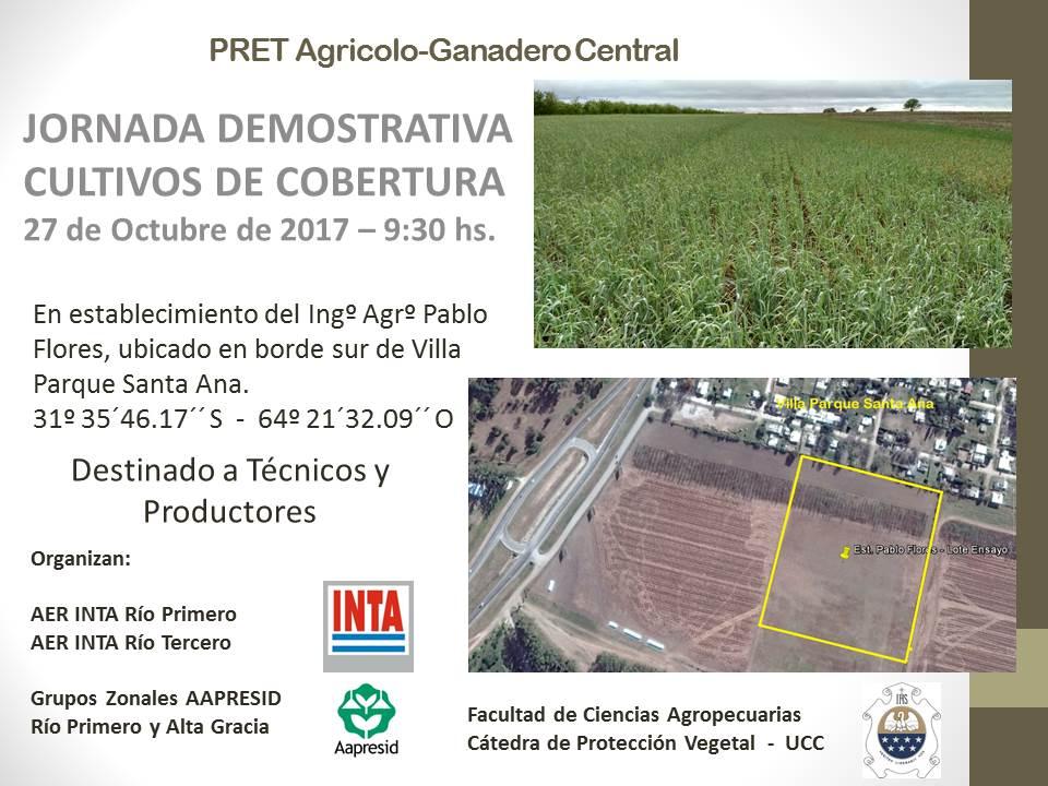 CultivosDeCobertura-Jornada 27 10 2017