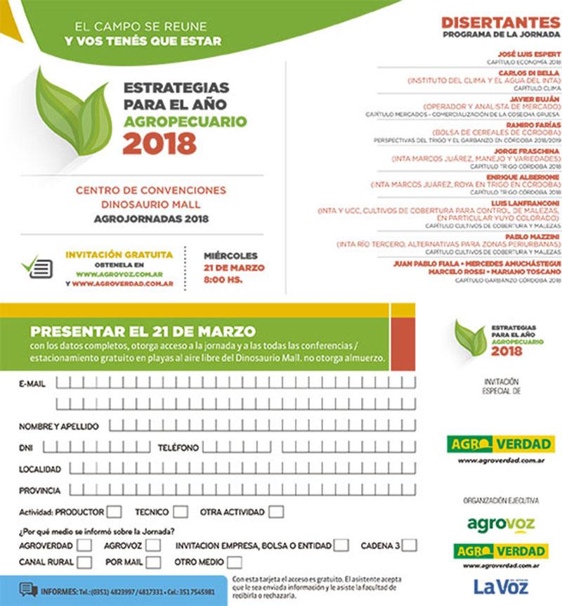 Invitacion Agroverdad Marzo 2018 w