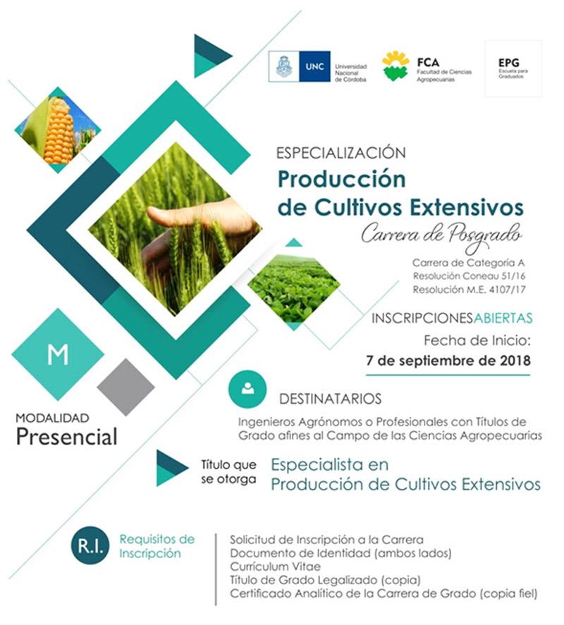 FCA-EPG-CultivosExtensivos 2018 Flyer
